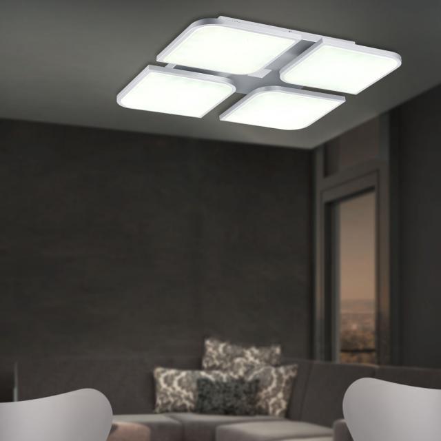 B-LEUCHTEN OTTAWA LED ceiling light, adjustable colour temperature and CCT, round