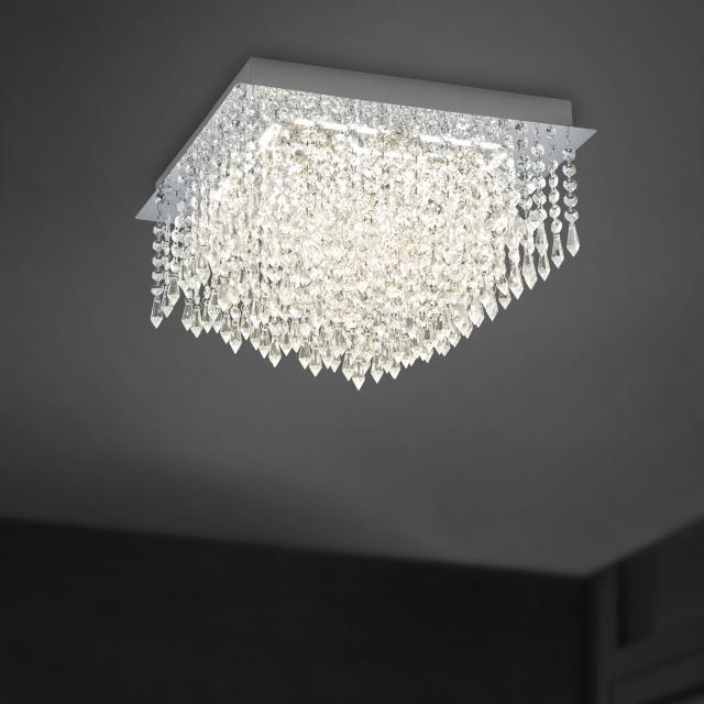 B-LEUCHTEN PALACE LED ceiling light, rectangular