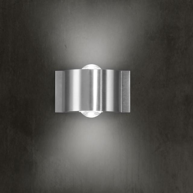 B-LEUCHTEN STREAM LED wall light, 2 heads