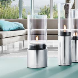 Blomus FARO tealight holder with maxi-tealight polished stainless steel/clear