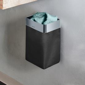 Blomus NEXIO guest towel basket polished stainless steel/anthracite