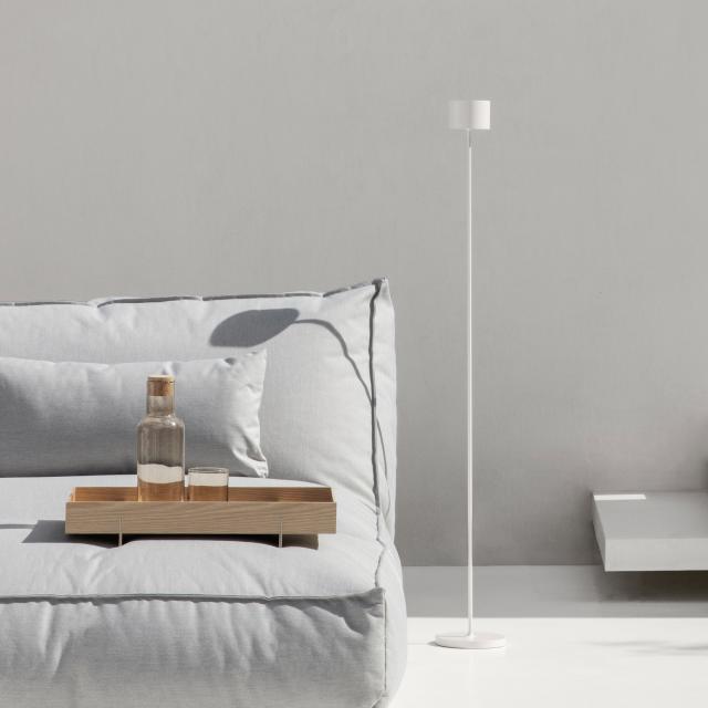 Blomus FAROL USB LED floor lamp with dimmer