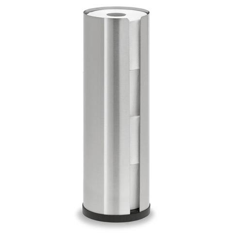 Blomus NEXIO toilet roll holder for 4 toilet rolls brushed stainless steel