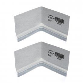 Blumtech PROFI-TOP 3D corner seals for baths and shower trays, 2 pieces