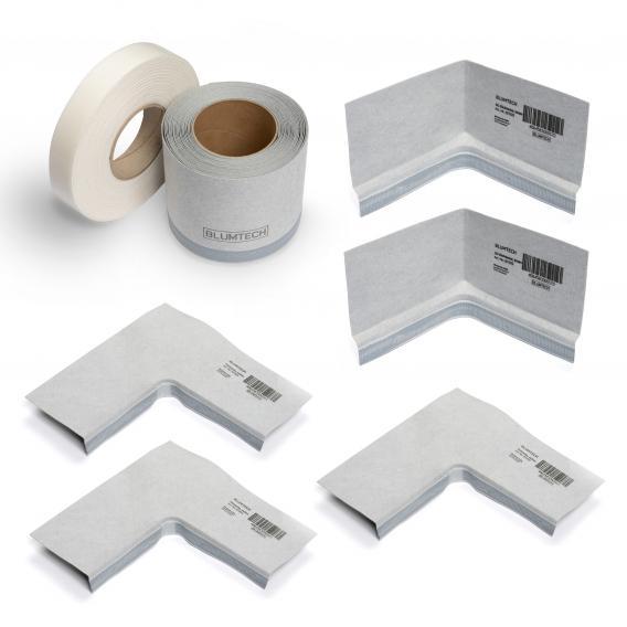 Blumtech PROFI-TOP sealing tape set 3D for shower trays
