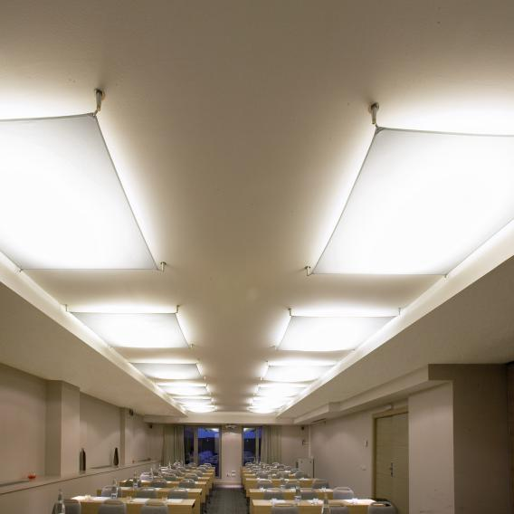B.lux Veroca 4 LED ceiling light