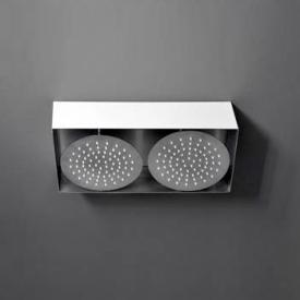 Boffi Aqualuce RFNS01 shower with 2 shower heads for ceiling installation