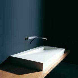 Boffi FOLIO WPFLAE01D Corian washbasin W: 120 D: 50 cm, drain on the right