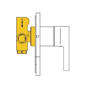 Boffi Liquid RESL04I concealed installation unit