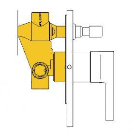 Boffi Liquid RESL05I concealed installation unit