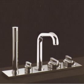 Boffi Liquid RGSL08 deck-mounted fittings with hand shower