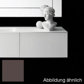 Boffi Soho BWRPB090SH vanity unit with drawer with siphon cut-out front coffee / corpus coffee