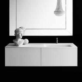 Boffi Soho countertop with basin white