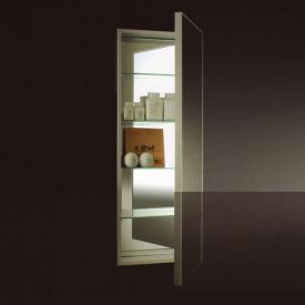 Boffi Square OSAC built-in mirror cabinet with 1 door