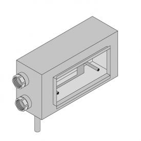Boffi Wings built-in installation unit for RHNS03-04