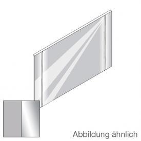 Boffi WK6 OMAD01 illuminated mirror with 2 LED bars natural