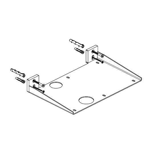 Boffi accessory WILDSS01 wall bracket
