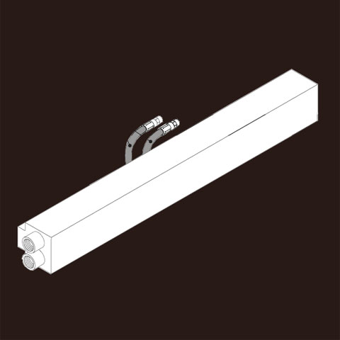 Boffi CUT RRCT02 wall-container length 60 cm