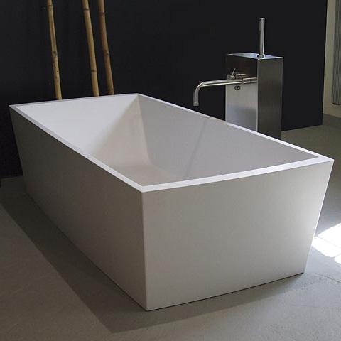 Boffi GOBI freestanding rectangular bath