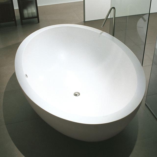 Boffi I FIUMI PO freestanding oval bath white