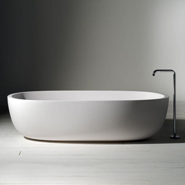 Boffi ICELAND freestanding oval bath matt white