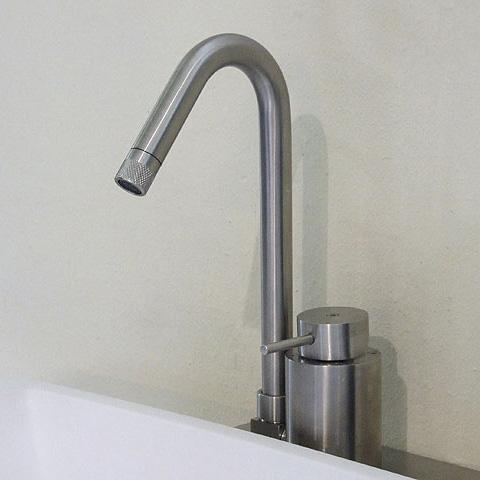 Boffi MINIMAL REDM01 single lever mixer for washbasin or bidet without waste set