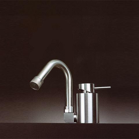 Boffi MINIMAL REDM02 single lever mixer for washbasin or bidet without waste set