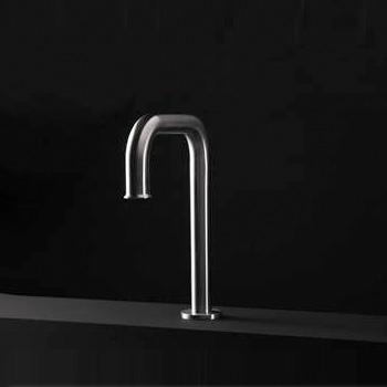 Boffi PIPE spout for washbasin or bath without waste set
