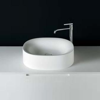 Boffi SABBIA 3 WRSBAC01 countertop washbasin W: 50 H: 15 D: 41 cm