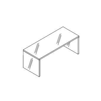 Boffi SWIM ANHD001 support structure for bath D: 220 W: 55 H: 20 cm