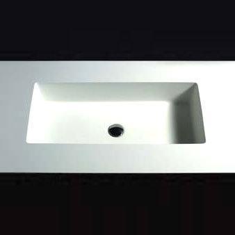Boffi UNIVERSAL large WRUNAB02 built-in washbasin W: 75.3 D: 35.5 cm