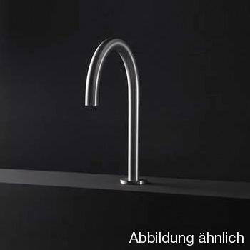 Boffi WINGS RINS basin spout without waste set, satinised stainless steel