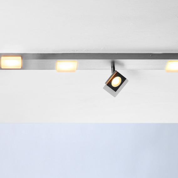 BOPP Session LED ceilin light/spotlight, 6 heads