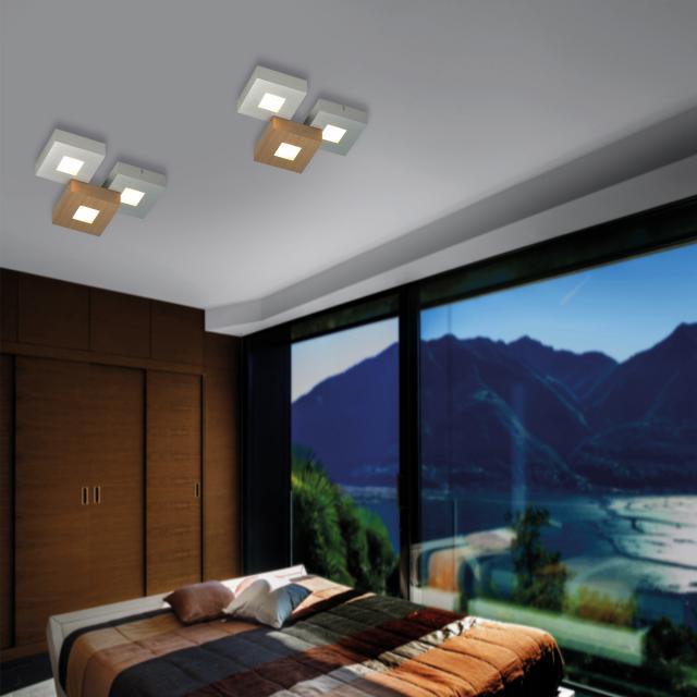 BOPP Cubus LED ceiling light 3 heads