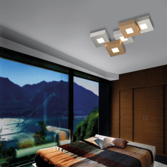 BOPP Cubus LED ceiling light 5 heads