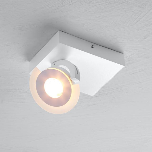 BOPP Exo LED ceiling light/spotlight, 1 head