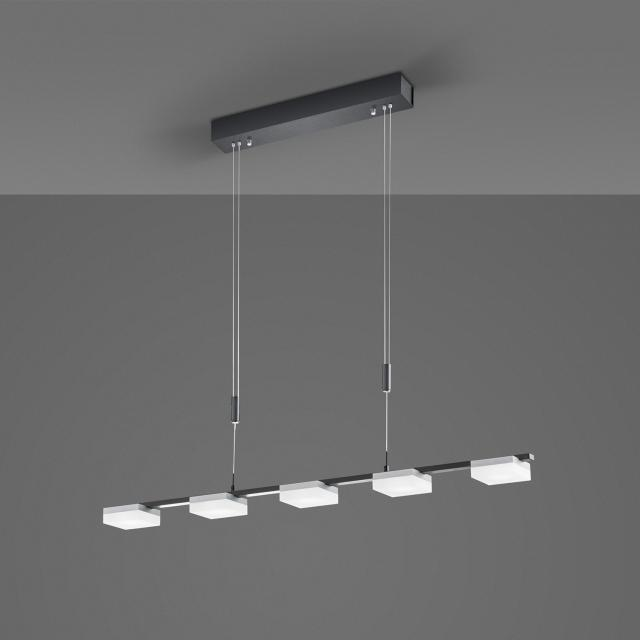 BOPP Plus Quad LED pendant light with dimmer and CCT