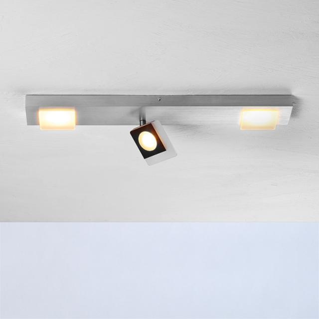 BOPP Session LED ceilin light/spotlight, 3 heads