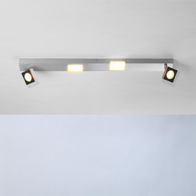BOPP Session LED ceilin light/spotlight, 4 heads