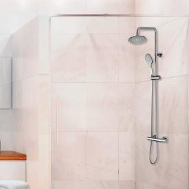 Bossini Agua shower system with thermostatic fitting