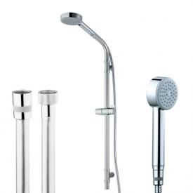 Bossini Cylindrica/1 hand shower set height: 870 mm