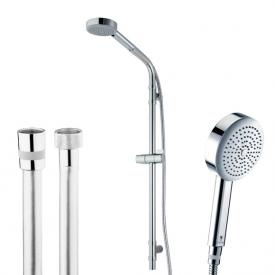 Bossini Dinamica/1 Ø 110 mm hand shower set H: 870 mm