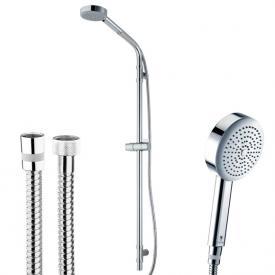 Bossini Dinamica/1 Ø 110 mm hand shower set with metal shower hose height: 1000 mm