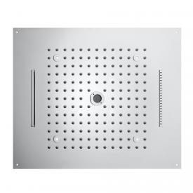 Bossini Dream overhead shower with 4 spray modes incl. Kneipp, with LED lighting