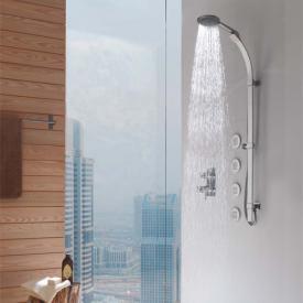 Bossini Flat shower set with Mixa/3 Fitair hand shower Ø 140 mm chrome