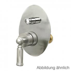 Bossini Liberty/2 concealed, single lever shower mixer with two-way diverter