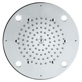 Bossini Oki Flat Light overhead shower Ø 290 mm, with LED lighting