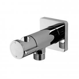 Bossini progressive single lever mixer with shower bracket