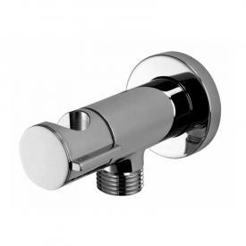 Bossini shut-off valve with shower bracket