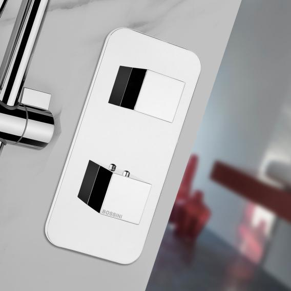 Bossini Alta Portata concealed thermostat for 1 or 2 outlets